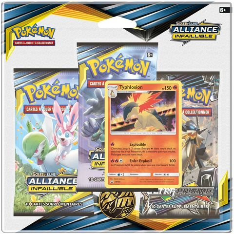 Booster - Pokemon - Pack 3 Boosters Sl10
