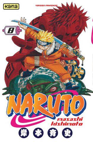 Manga - Naruto - Tome 8