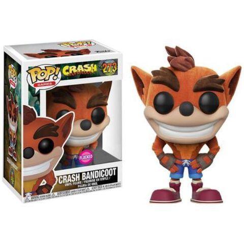 Figurine Funko Pop! N°273 - Crash Bandicoot - Crash floqué