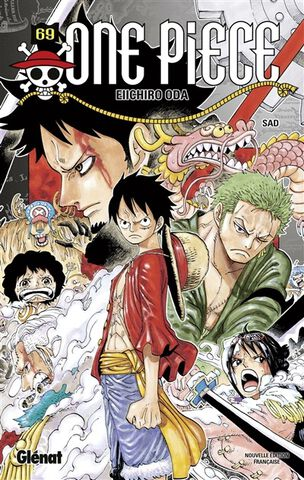 Manga - One Piece - Edition Originale Tome 69