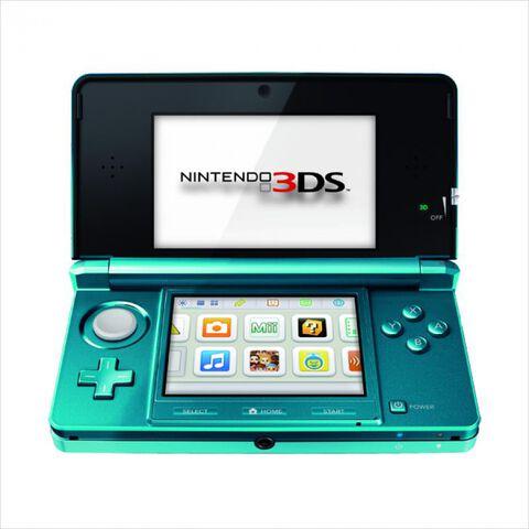 Nintendo 3DS Bleu Lagon