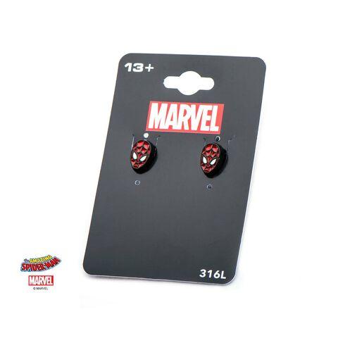 Boucles d'oreilles - Marvel  - Masque Spider-Man