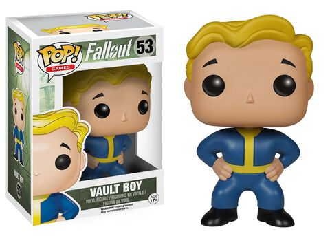Figurine Funko Pop! N°53 - Fallout - Vault Boy