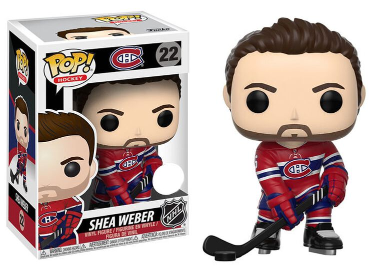 Figurine Funko Pop! N°22 - NHL - Shea Weber Home Jersey - Exclusivité Micromania-Zing