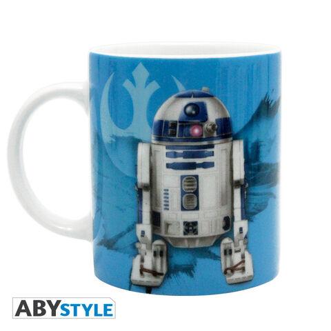 Mug - Star Wars - Yoda & R2-D2 - 320 Ml