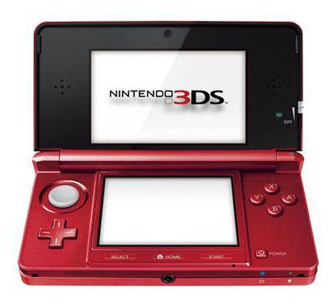 Nintendo 3DS Rouge Métal
