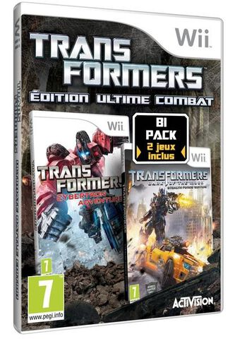 Bi Pack Transformers - Edition Ultime Combat
