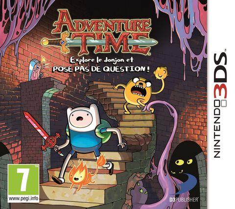 Adventure Time : Explore Le Donjon Et Pose Pas De Question !