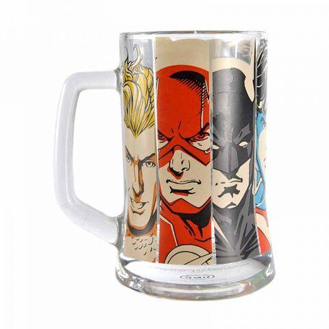 Mug - Justice League - En Verre 400 Ml