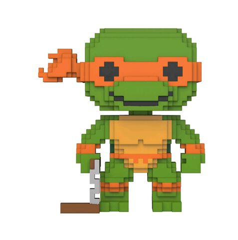 Figurine Funko Pop! N°07 - Tortues Ninja - Michelangelo 8 Bit