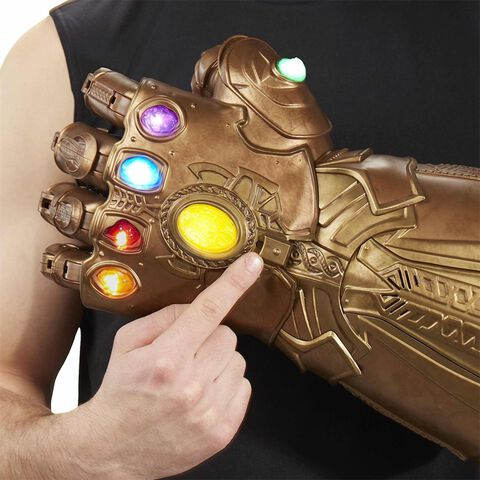 Réplique - Avengers Infinity War - Marvel Legend gant de Thanos articulé Collector