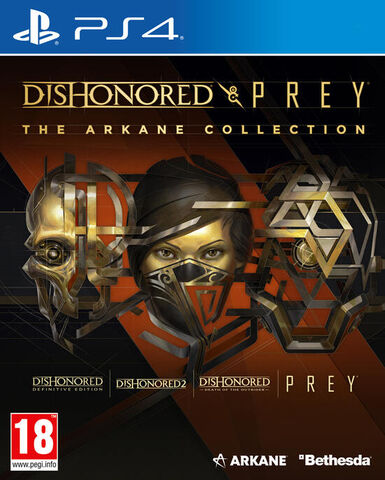 Dishonored And Prey The Arkane Collection