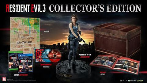 Resident Evil 3 Edition Collector
