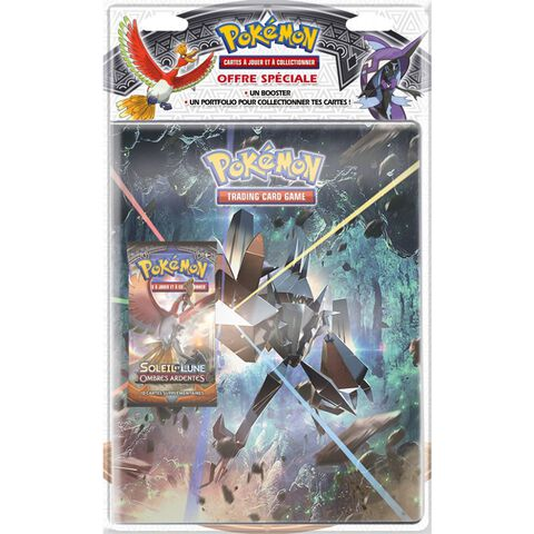 Cahier range cartes - Pokémon - avec booster Soleil et Lune 03