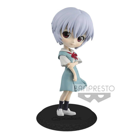 Figurine Q Posket - Evangelion Movie - Rei Ayanami Version B