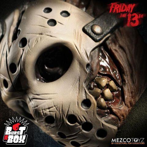 Boîte à musique Diable Mezco - vendredi 13 - Burst-a-box Jason Voorhees 36 cm