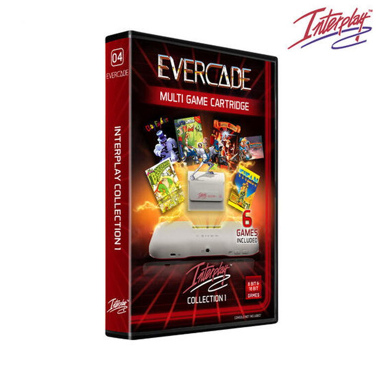 Blaze Evercade - Interplay Cartridge 1