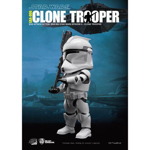 Figurine Egg Attack - Star Wars - Ea-006 Episode II Clonetrooper