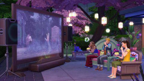 Les Sims 4 - DLC : Kit D'objets Comme Au Cinéma - Version digitale