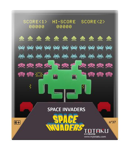 Figurine Totaku N°37 - Space Invader - Exclusivité Micromania-Zing