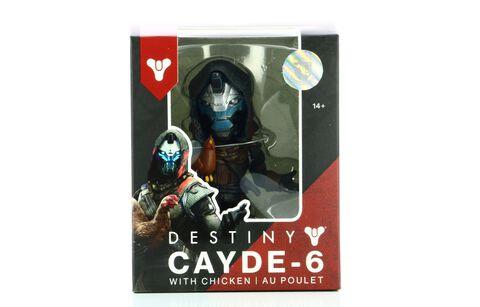 Figurine - Destiny - Cayde-6 avec poulet