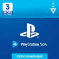 PlayStation Now 3 mois PS4 - PS5