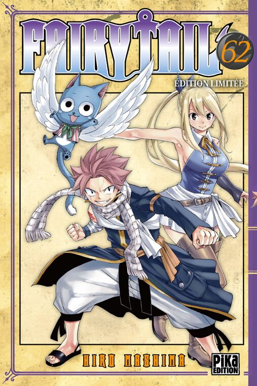 Manga - Fairy Tail - Tome 62 Edition Limitée