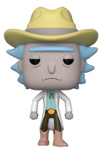 Figurine Funko Pop! N°363 - Rick & Morty - Western Rick SDCC 2018