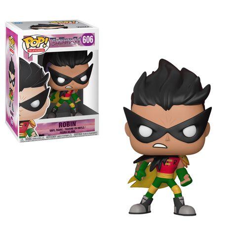 Figurine Toy Pop N°606 - Teen Titans Go - Tnbts Série 1 Robin