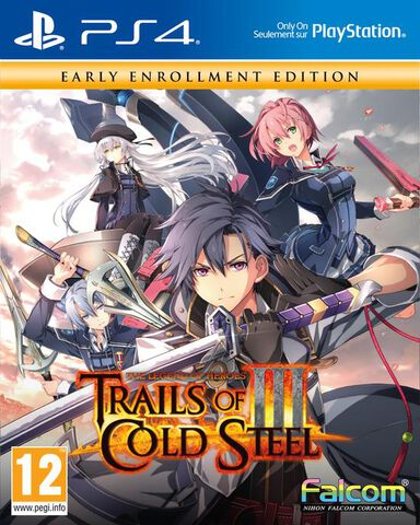 The Legend Of Heroes Trails Of Cold Steel 3 Edition Early Enrollment