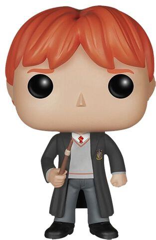 Figurine Funko Pop! N°02 - Harry Potter - Ron Et Sa Baguette