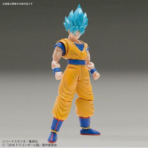 Figurine Figure-rise - Dragon Ball Super - Sangoku Super Saiyan God (couleur Spéciale)