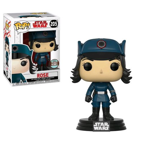 Figurine Funko Pop! N°205 - Star Wars Episode 8 - Rose Déguisée
