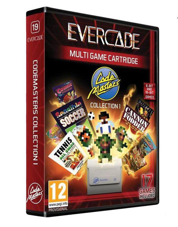Evercade Codemasters Cartridge