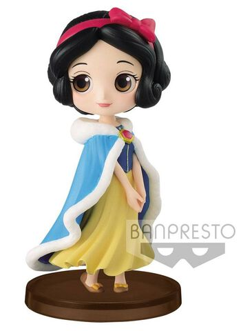 Figurine Q Posket Petit - Disney - Blanche-Neige Costume d'hiver