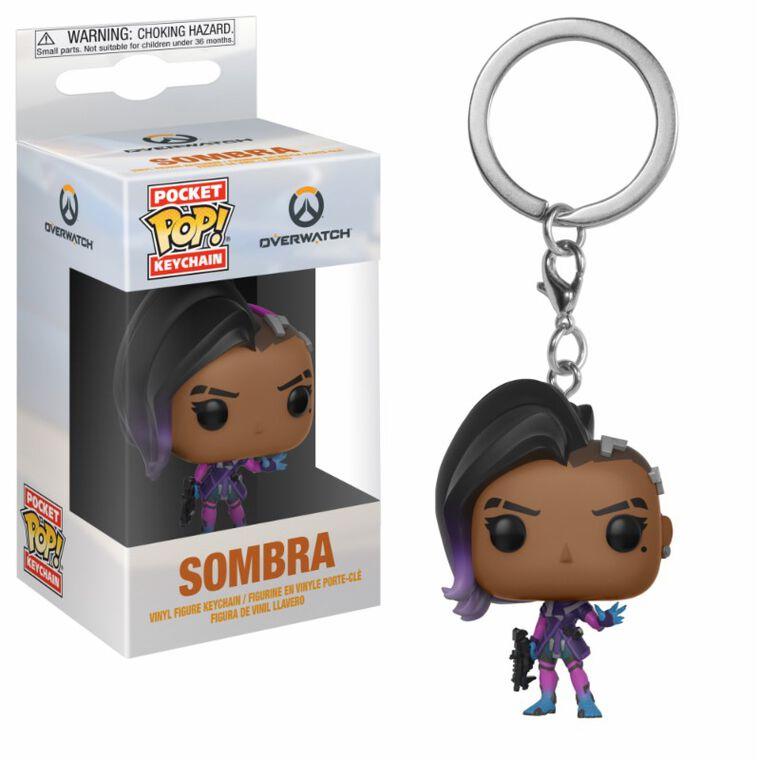 Porte-clés Pop - Overwatch – Sombra