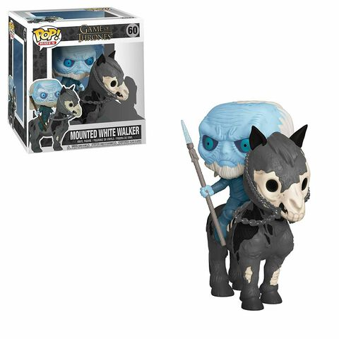 Figurine Funko Pop! Ride N°60 - Game of Thrones - S10 Marcheur blanc sur cheval