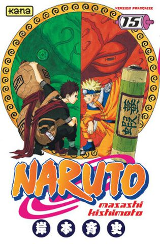 Manga - Naruto - Tome 15