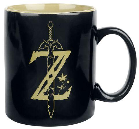 Mug - Zelda - Noir et doré 480 ML