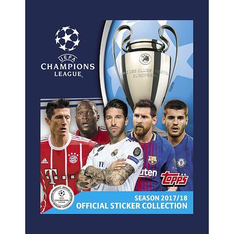 Stickers - UEFA Champions League - Blister de 12+1