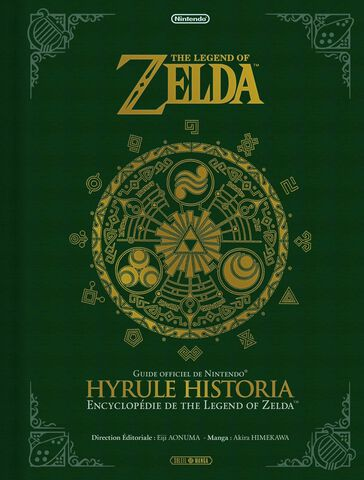 Livre - The Legend of Zelda - Hyrule Historia