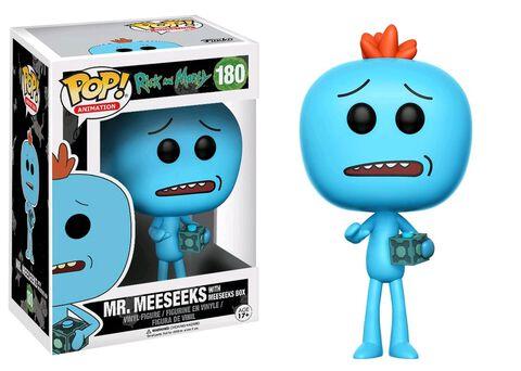 Figurine Funko Pop! N°180 - Rick et Morty - M. Meeseeks avec boîte