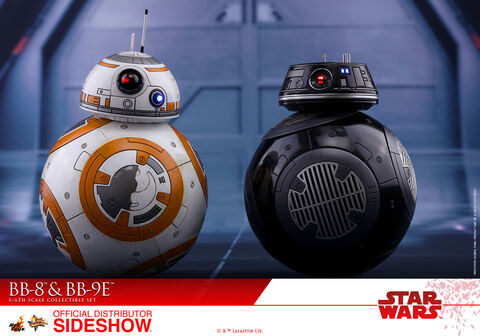 Figurines Hot Toys - Star Wars Episode VIII - BB-8 & BB-9E