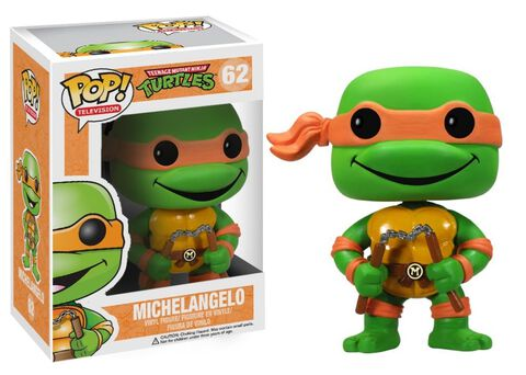 Figurine Funko Pop! N°62 - Les Tortues Ninja - Michelangelo