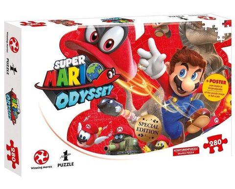 Puzzle - Super Mario Odyssey - 280 pièces