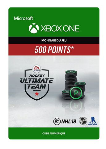 Dlc Nhl 2018 - Ultimate Team Nhl 500 Points Xbox One