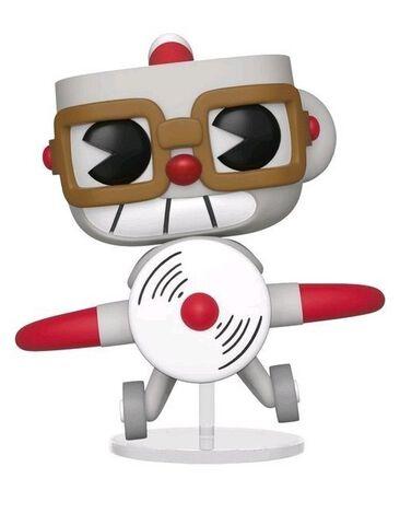 Figurine Funko Pop! N°415 - Cuphead - Cuphead dans avion