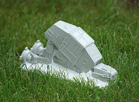 Nain De Jardin - Star Wars - At-at (exclu Gs)