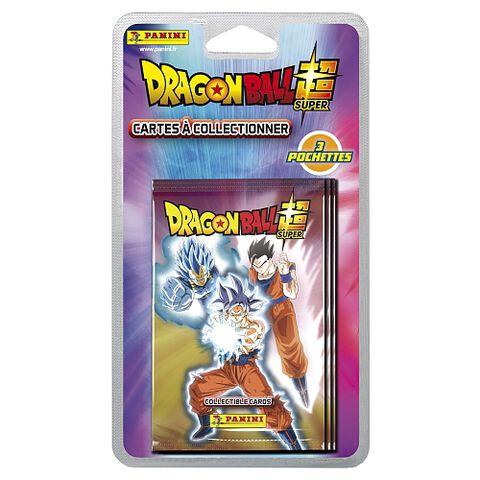Cartes Dragon Ball Super - Panini - Blister 3 pochettes