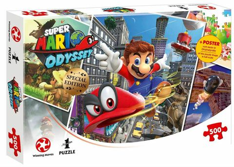 Puzzle - Super Mario Odyssey - 500 pièces